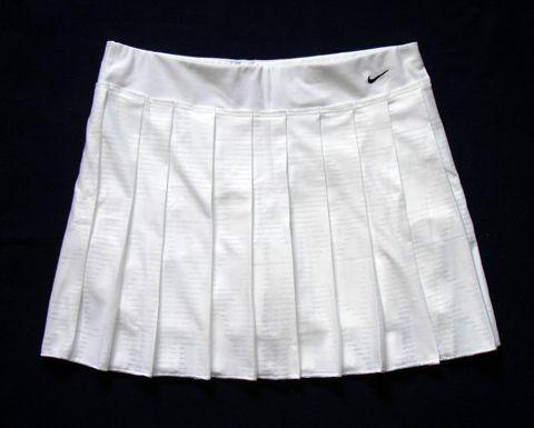 Nwot Nike Classic White Pleated Tennis Skirt Skort S M White Pleated Tennis Skirt Pleated Tennis Skirt Tennis Skirt