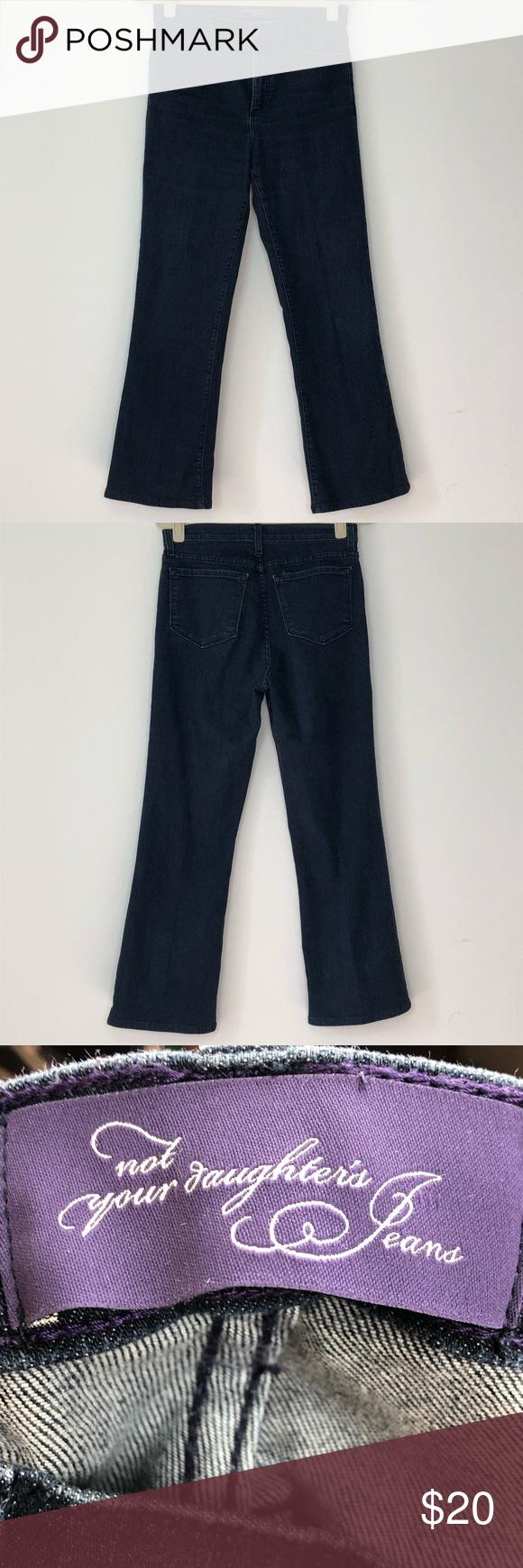 e104b17c701 NYDJ Blue Straight Jeans