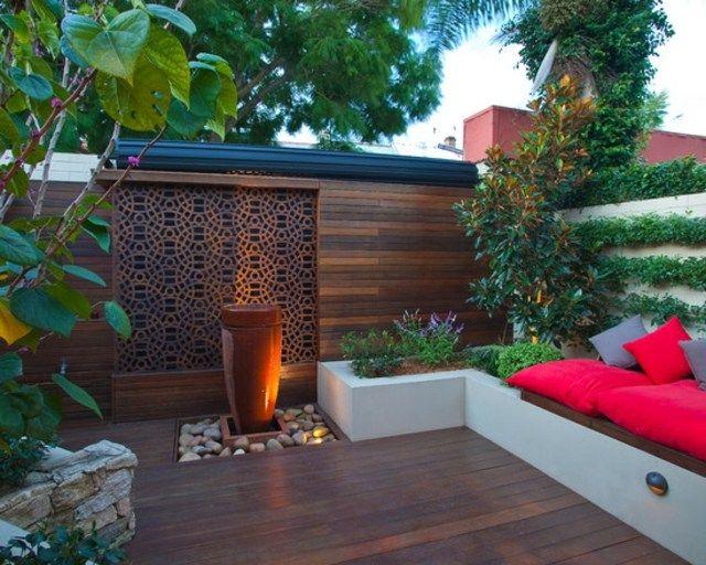 Terrasse en bois - 75 idées pour une déco moderne Outdoor spaces - terrasse bois avec bassin