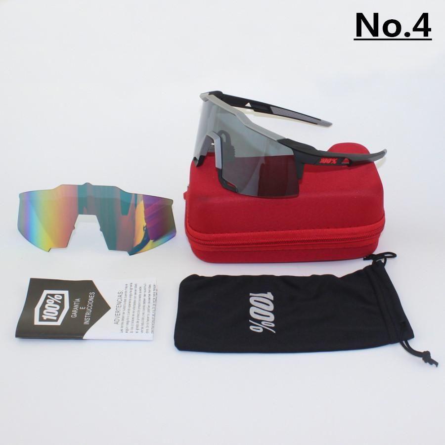 b6046b71ff5 Brand 100% SpeedCraft Outdoor Sports Bicycle Sunglasses bicicleta Gafas  ciclismo Cycling Glasses Eyewear For men