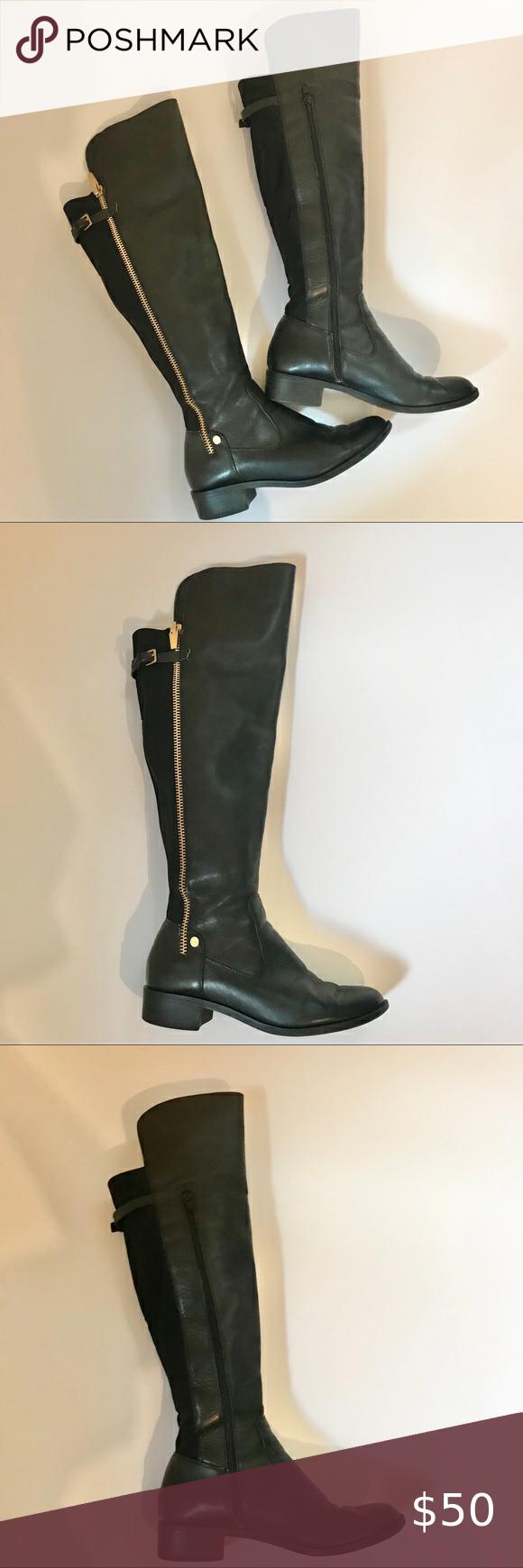 Black boots, Boots, Calvin klein shoes