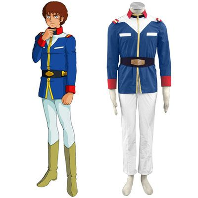Anime · Deluxe Gundam 0079 EFF Trainee Soldiers Men Military Uniform  Cosplay Costumes