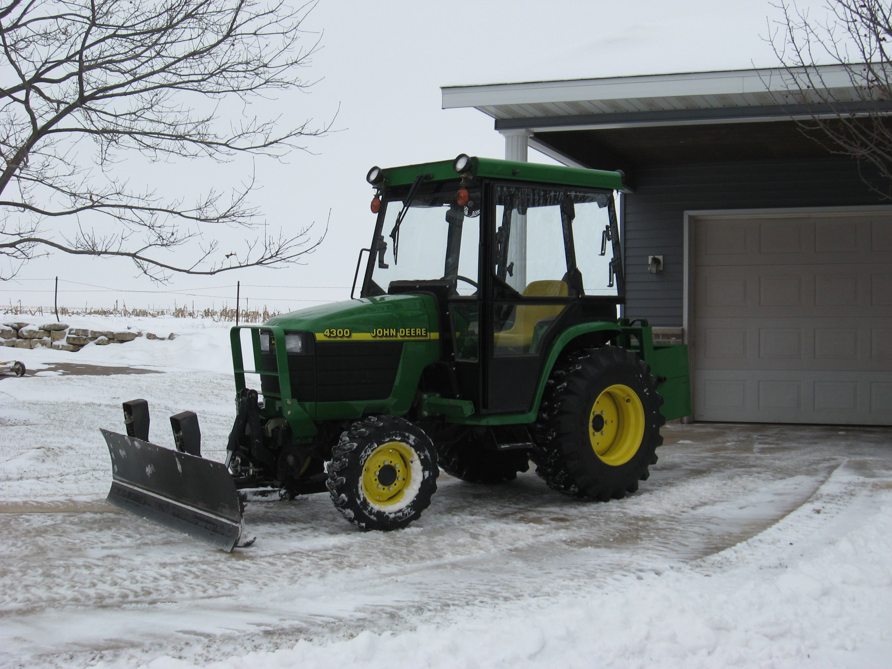 John Deere Snow Plow John Deere 4300 This Is Truly One Amazing Snowplow And The