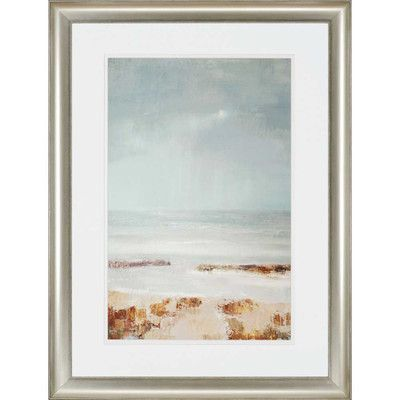 Paragon Tideline by Gold Framed Painting Print | Products ...
