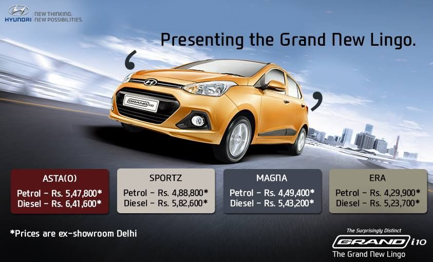 Presenting The New Addition To The Hyundai Family Grand I10 A