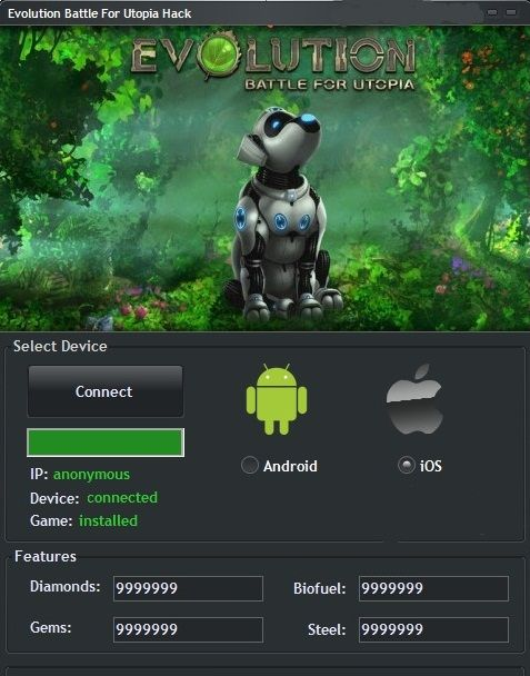 evolution battle for utopia hack tool no survey free download ...