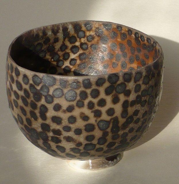 Bowl With Black Spots Ceramic Pottery Ceramic Bowls Ceramic Clay