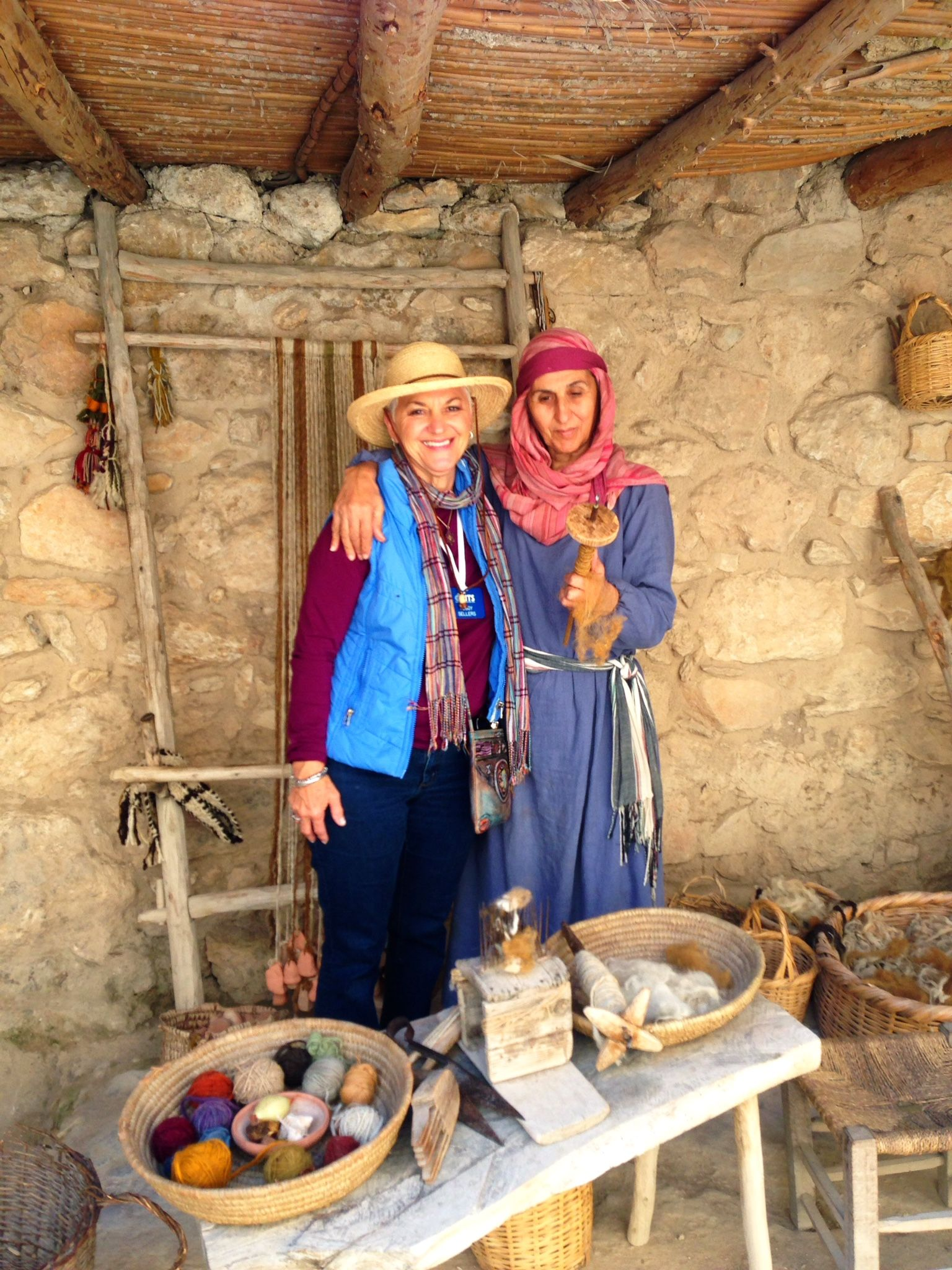 Meet Mary, my Arab Christian friend who volunteers at the