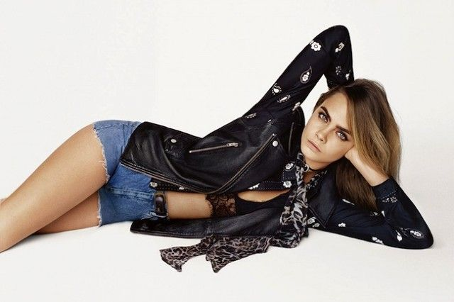Cara+Delevingne+Stars+in+Topshop's+Crazy-Cool+S/S+2015+Campaign+via+@WhoWhatWear