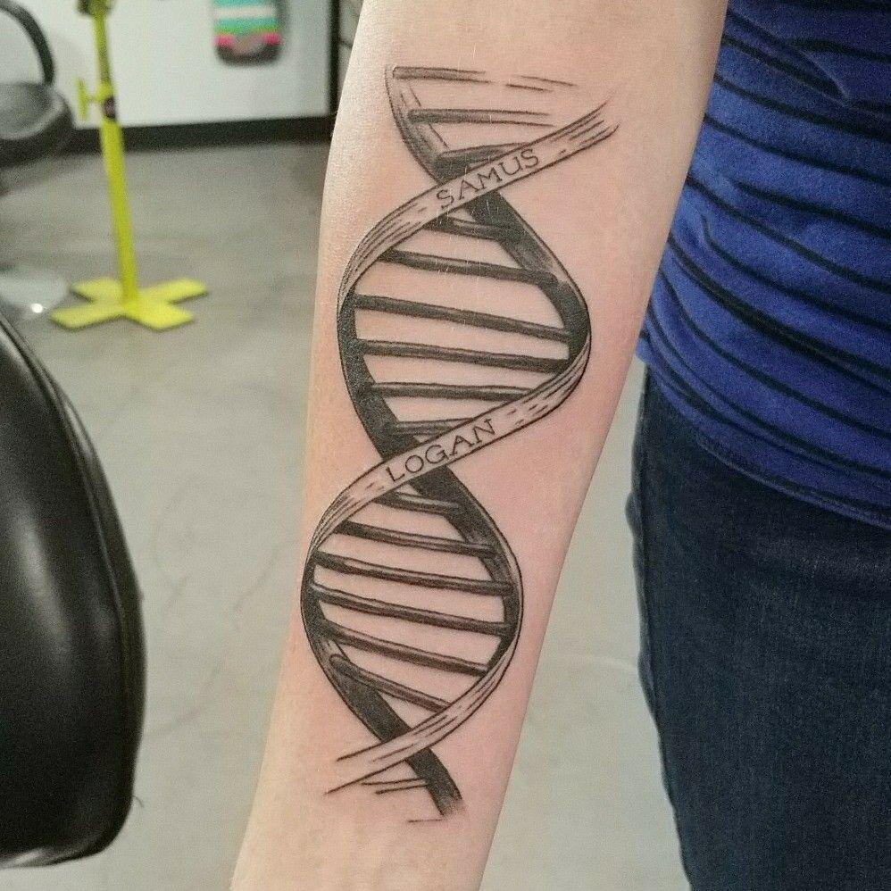Pin By Sahar Saniee On Inspiration Dna Tattoo Wrap Around Tattoo Family Tattoos