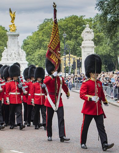 F Company, Scots Guards, Changing the Guard, London 2016