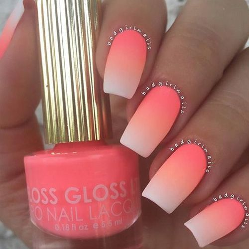 Ombre Nails – 175 Best Ombre Nails | Ombre, Manicure and Makeup