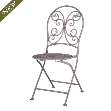Terrific Antique White Wrought Iron Bistro Chair New England Ncnpc Chair Design For Home Ncnpcorg