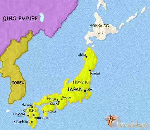 Znalezione Obrazy Dla Zapytania Map Japan Maps Pinterest Japan