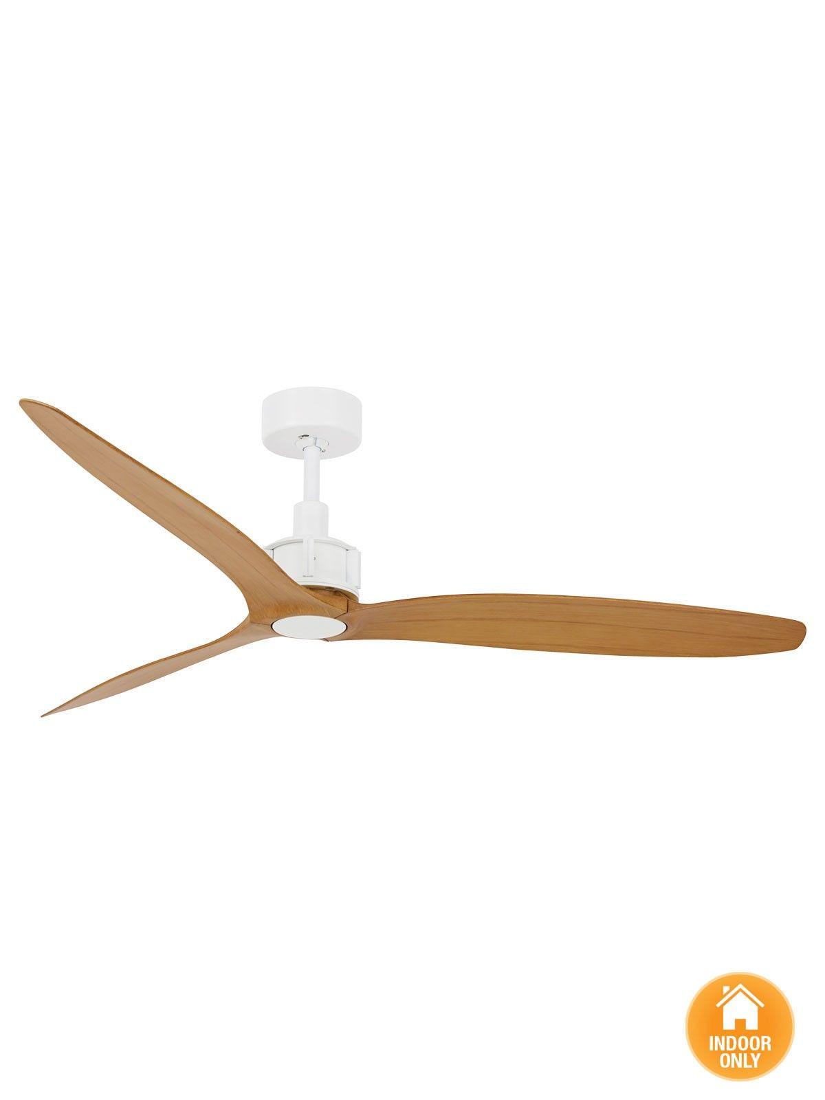 Viceroy 132cm DC Fan ly in White Teak