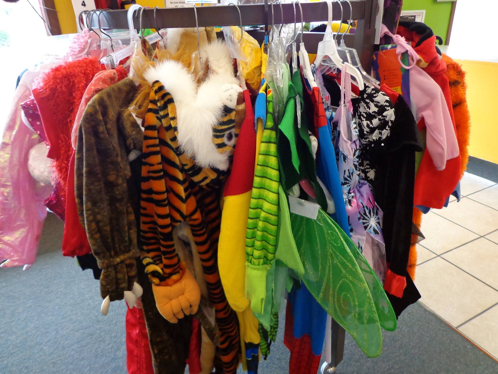 does your little one's costume not fit? hurry in to remarkable