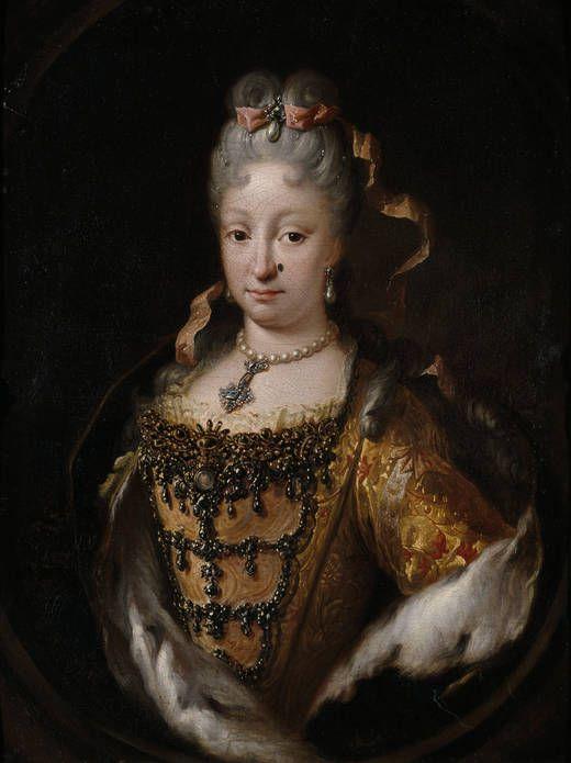 Elisabeth Farnese by Melendez, 1718-22