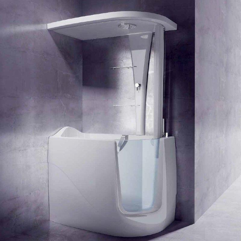 Mini Bathtub And Shower Combos For Small Bathrooms Mini