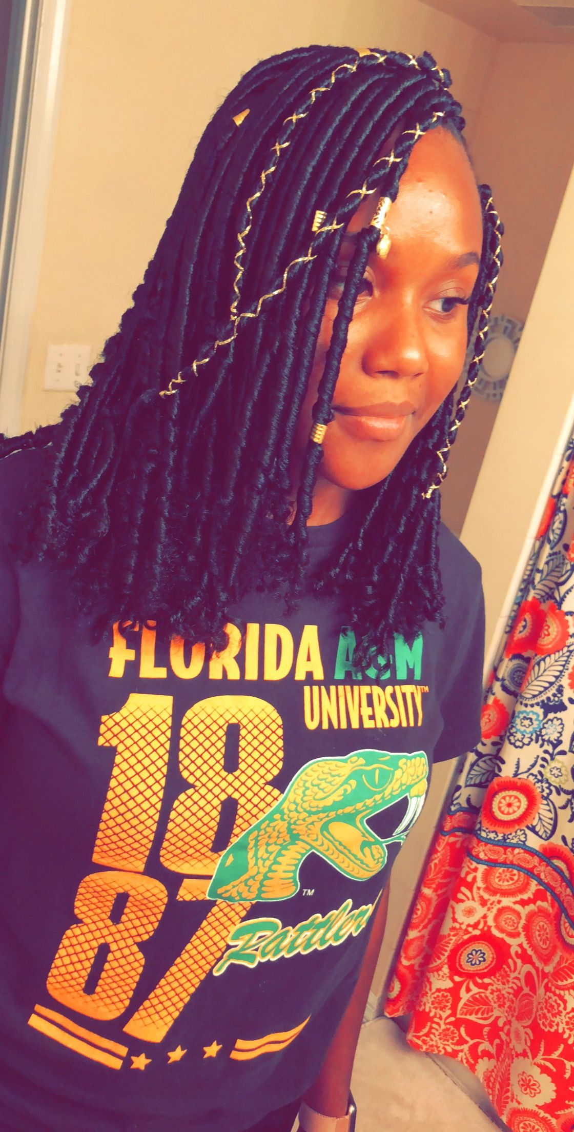 Individual Crochet Locs Unraveled At The Ends Hair By