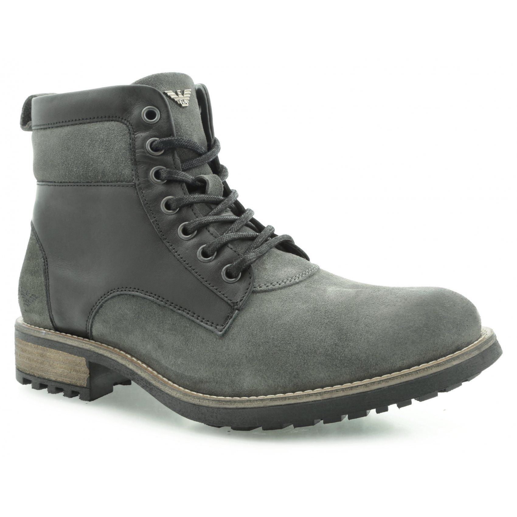 Armani Jeans Z6585 78 Desert Boots 12 Black Z6585 78 12 Buty Meskie Trapery W Riccardo Pl Boots Desert Boots Hiking Boots