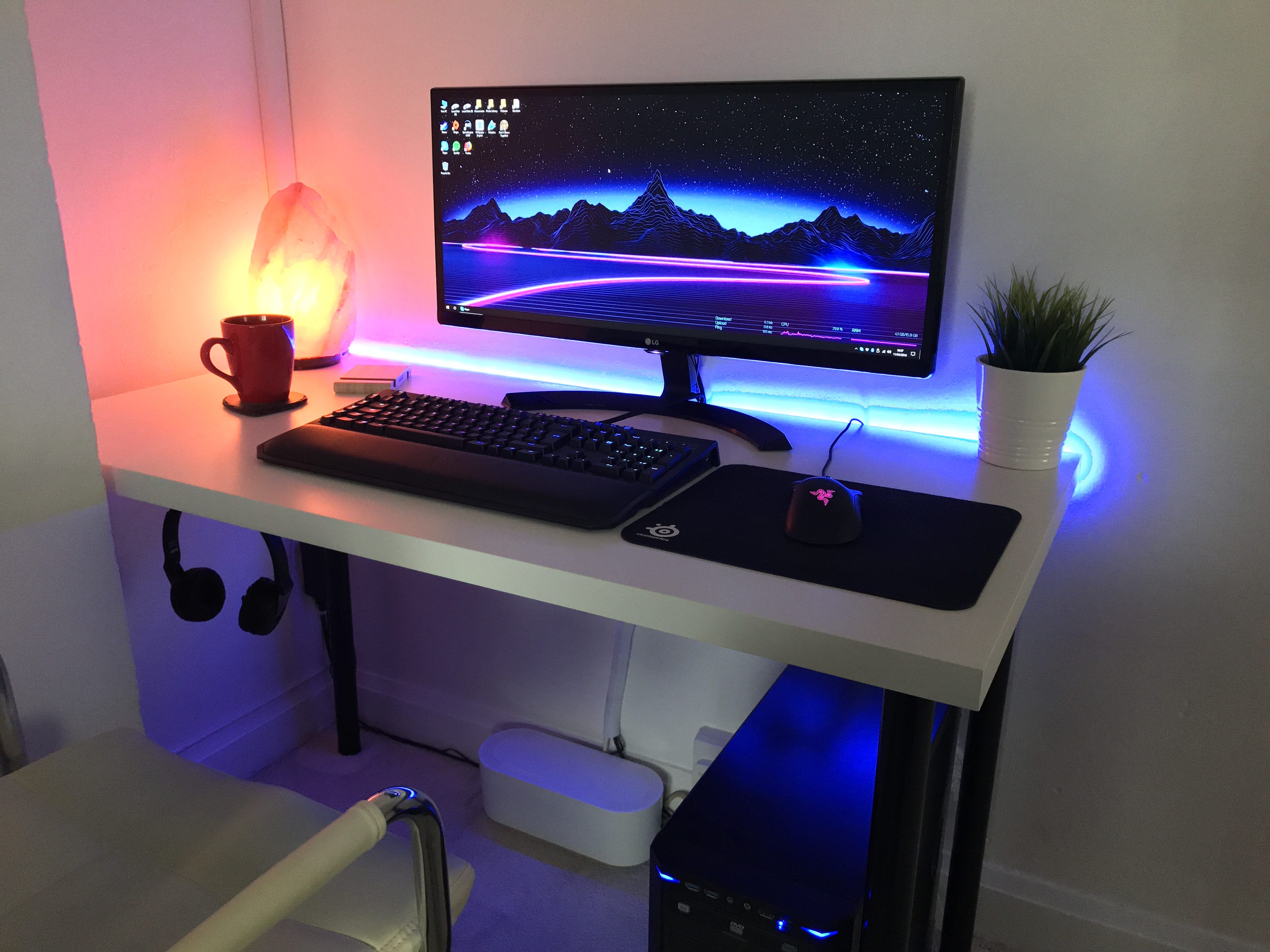 A Limited Space Setup With Some Rgb Any Ideas To Improve