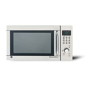 Ge 1 3 Cu Ft Stainless Steel Countertop Microwave Oven With