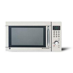 Ge 1 3 Cu Ft Stainless Steel Countertop Microwave Oven With Browner Countertop Microwave Oven Countertop Microwave Stainless Steel Countertops