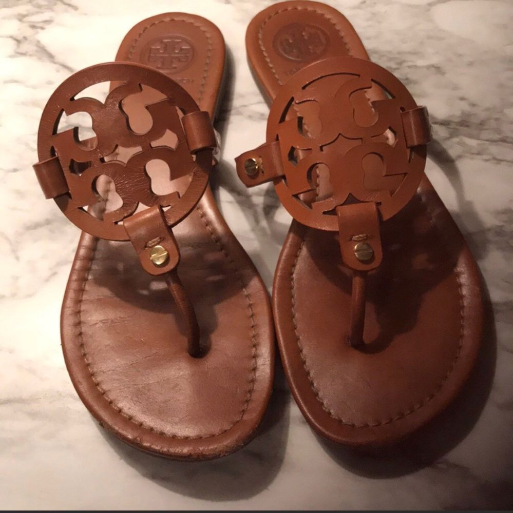 5b7f70c22eb1e6 Tory Burch Miller Sandal Womens Color  vintage Vanchetta Purchased Palm  beach  fashion  clothing  shoes  accessories  womensshoes  sandals (ebay  link)
