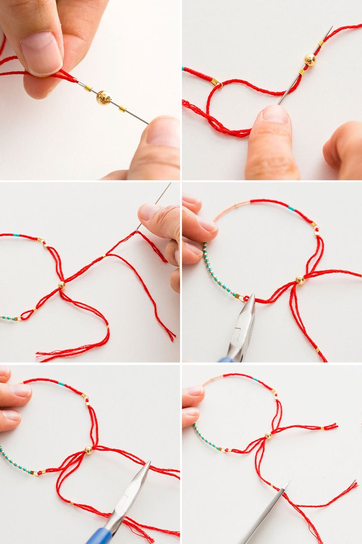 2 Modern Takes on DIY Beaded Bracelets | Brit + Co
