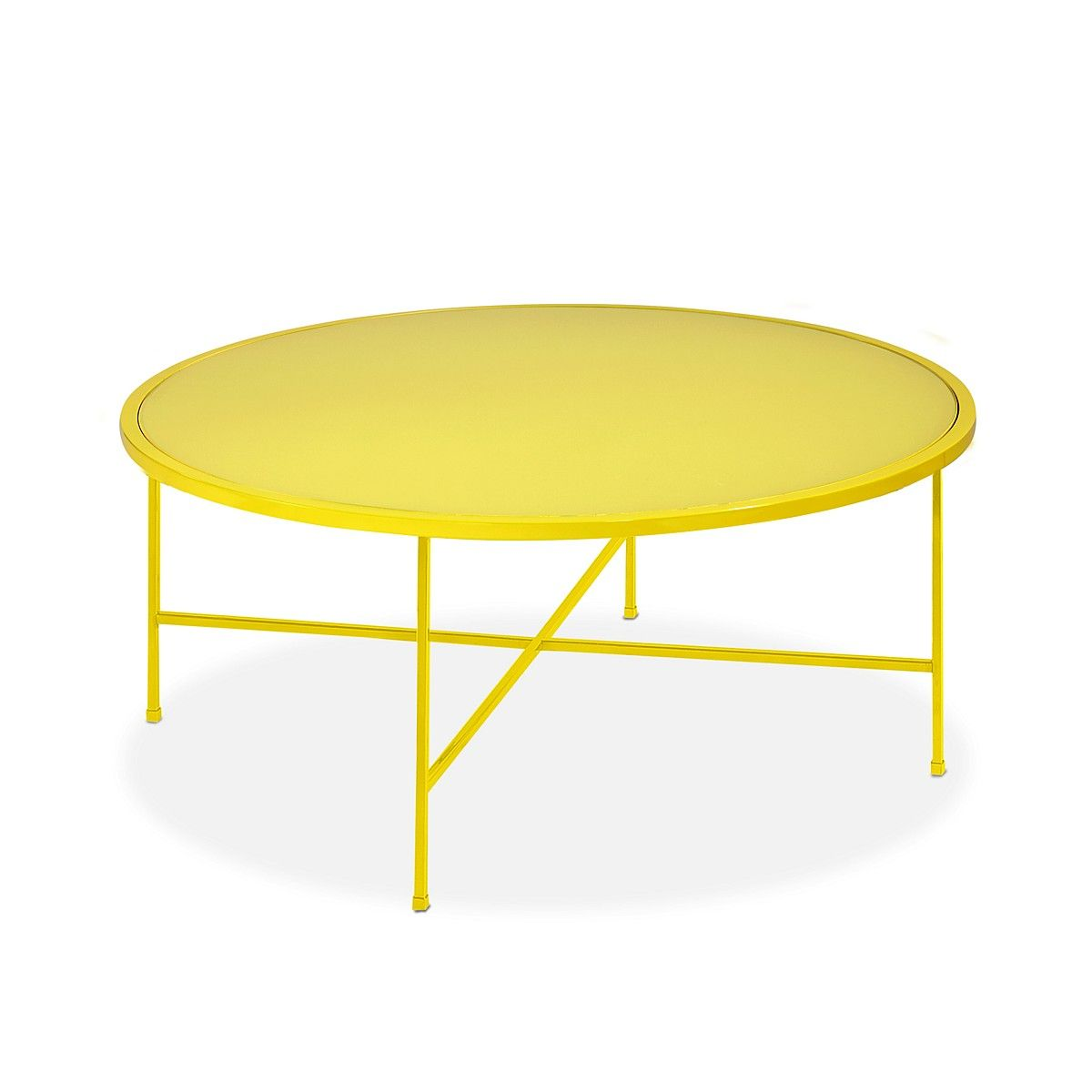 Bloomingdales Round Cocktail Table | Bloomingdales #magazinemonday