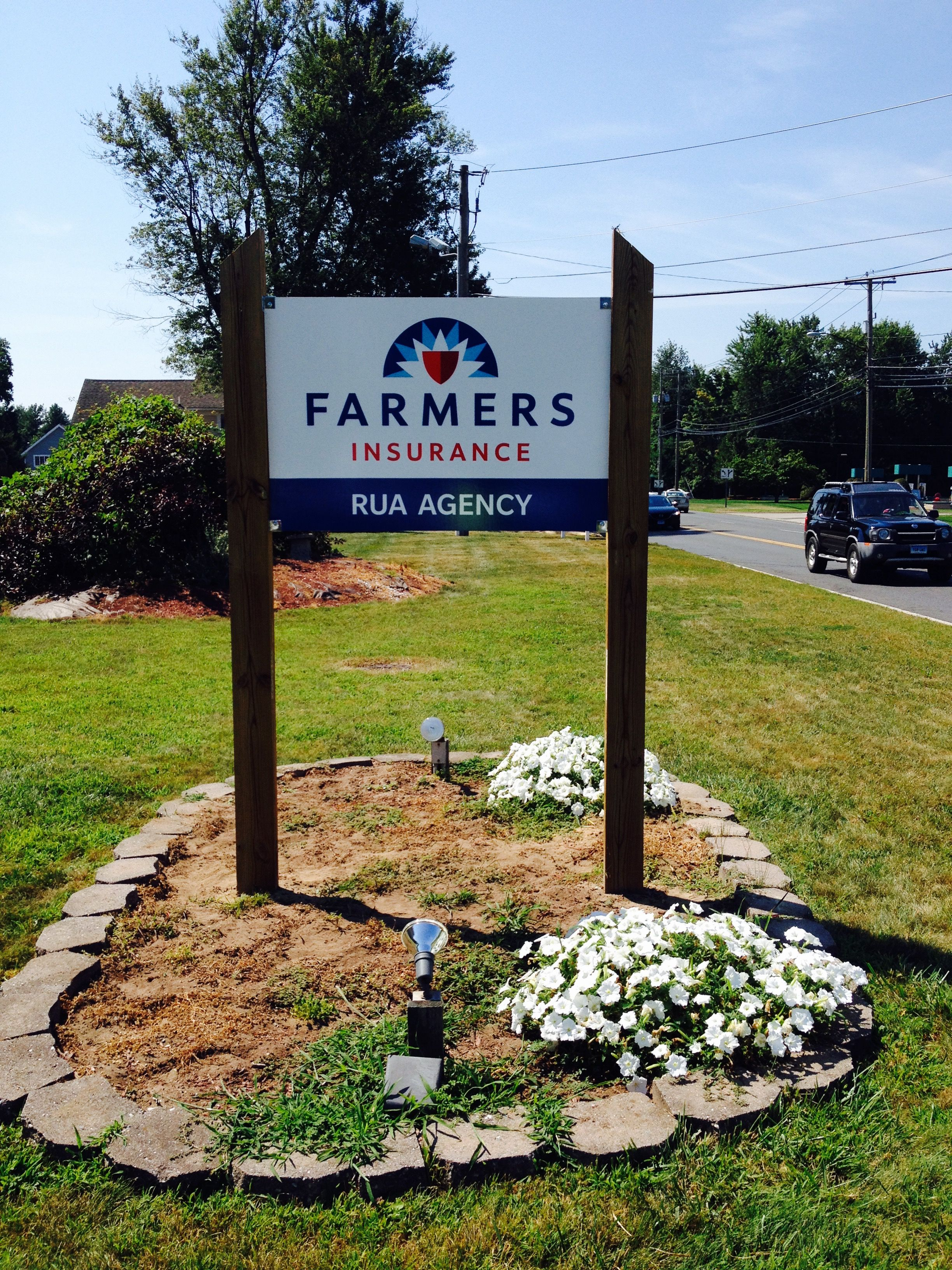 Farmers Insurance Architectural Sign Done By Sign Pro Inc