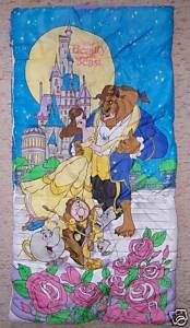 the best attitude ed598 eb868 Beauty and the Beast Sleeping Bag | Toys From My Childhood ...