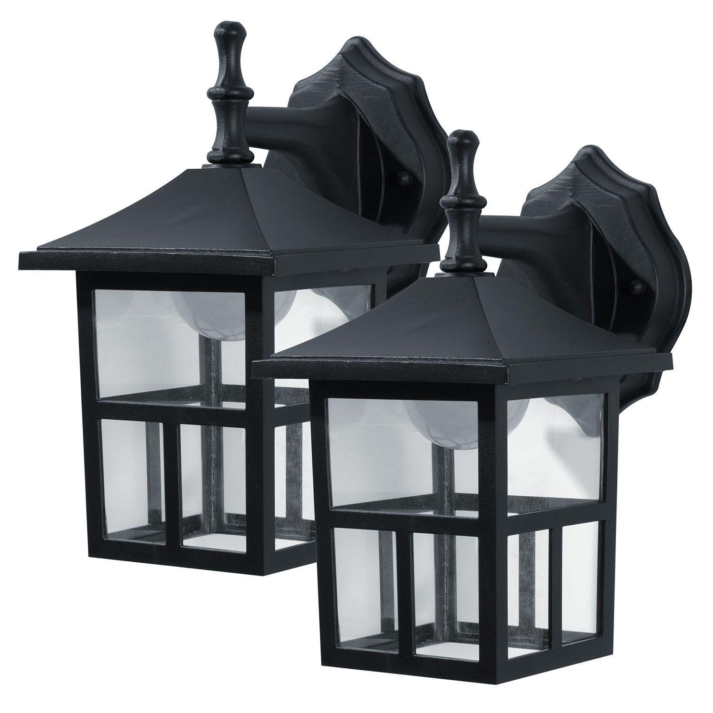 Honeywell Outdoor LED Wall-Mount Lantern (2 pack) - Sam's Club
