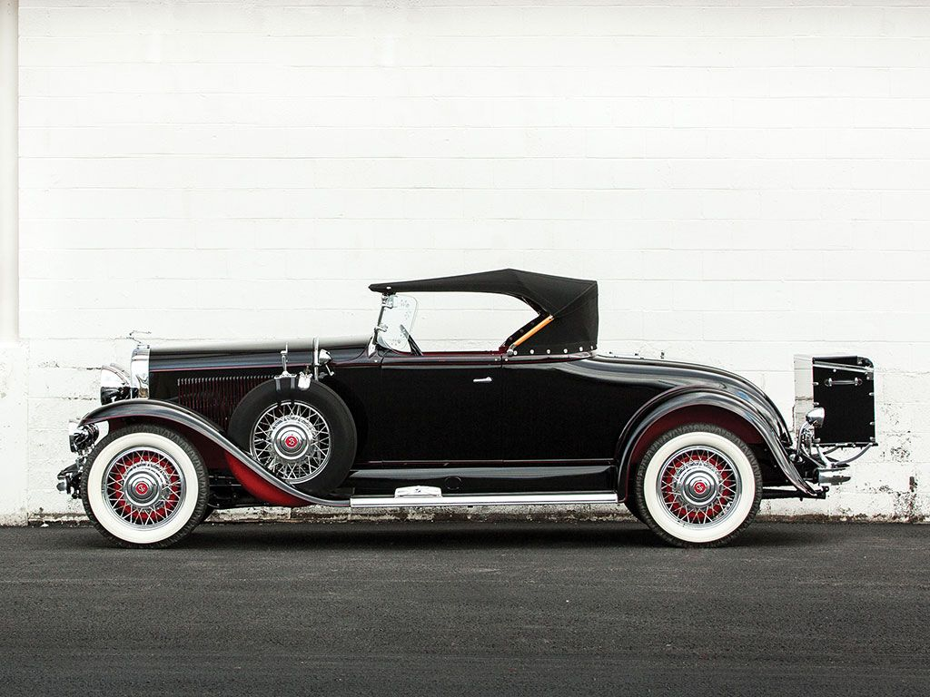 1931 Buick Series 90 Sport Roadster Arizona 2016 RM
