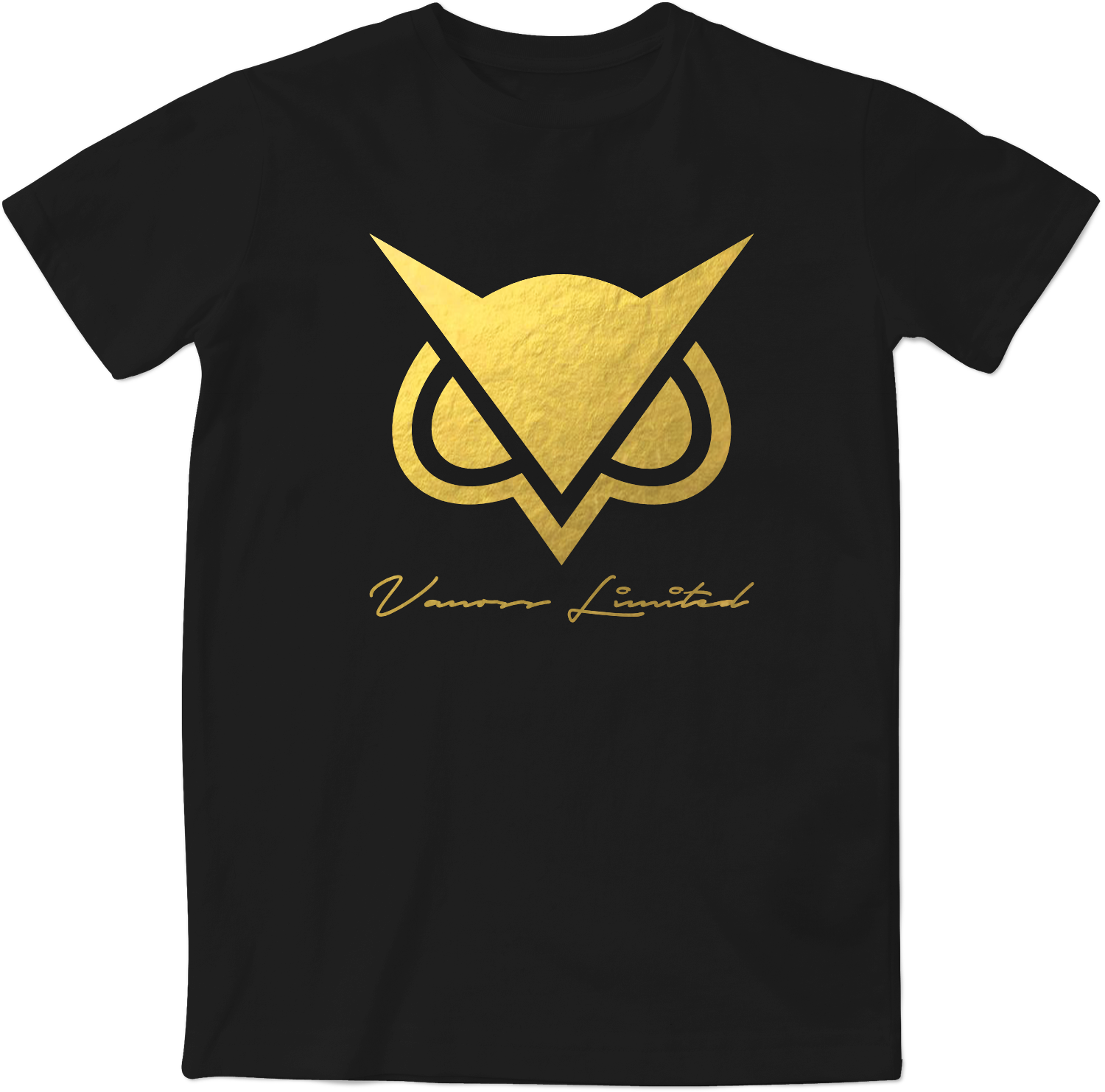 Limited Edition - Vanoss || Gold Foil Logo T-Shirt | Kids ...