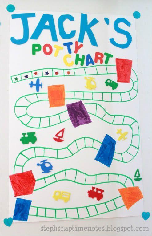 beautiful diy potty training progressreward chart