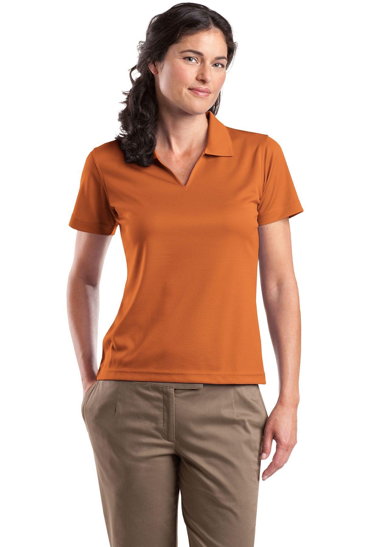 SportTek Ladies' Dri Mesh Polo Shirt Clothes, Golf t