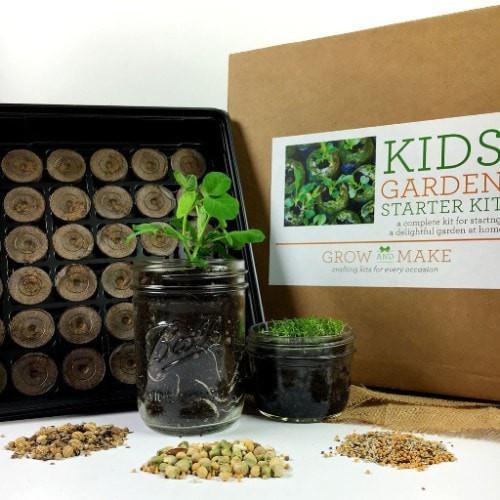 Diy Garden Kit For Kids Gardening For Kids Garden Kits Organic