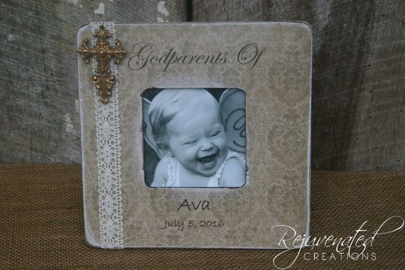 gift to godparents personalized frames godparents gifts new baby gifts godparent frames baptism gifts baptism frames baby girl baby boy gift