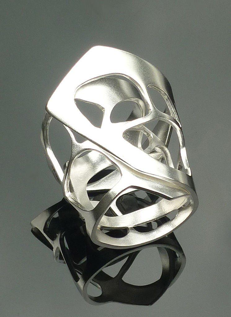 cd9852d838fa anillos plata diseño joyas modernas artesania moda