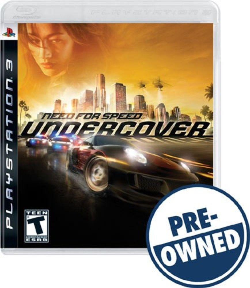 Need for Speed: Undercover — PRE-Owned - PlayStation 3