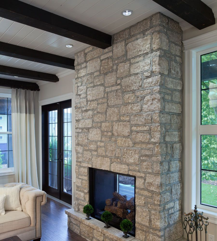 Fireplace/Outdoor Living: Cedar Ridge, TUMBLED ASHLAR ...
