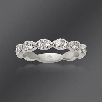 Ross Simons Gabriel Designs 50 Ct T W Diamond Wedding Ring In 14kt