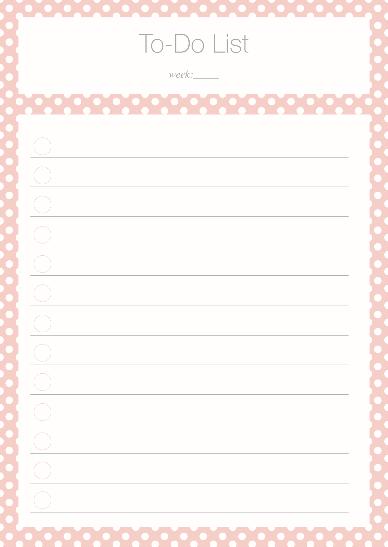 To Do List Freebie | Filofax, Planners and Bullet journals
