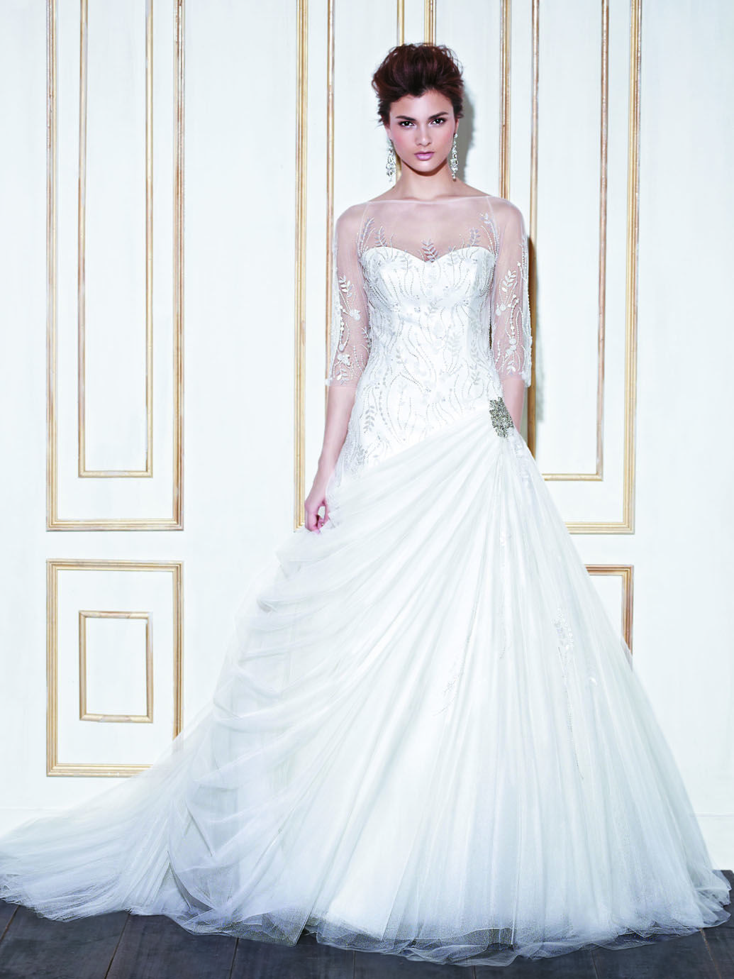 Geraldton blue collection enzoani available colours ivory