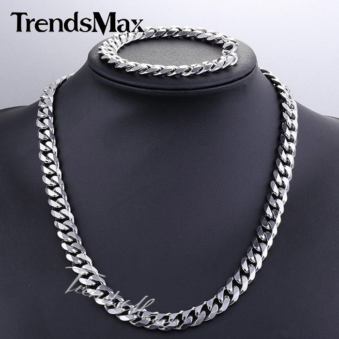 16++ Stainless steel jewelry mens necklace information