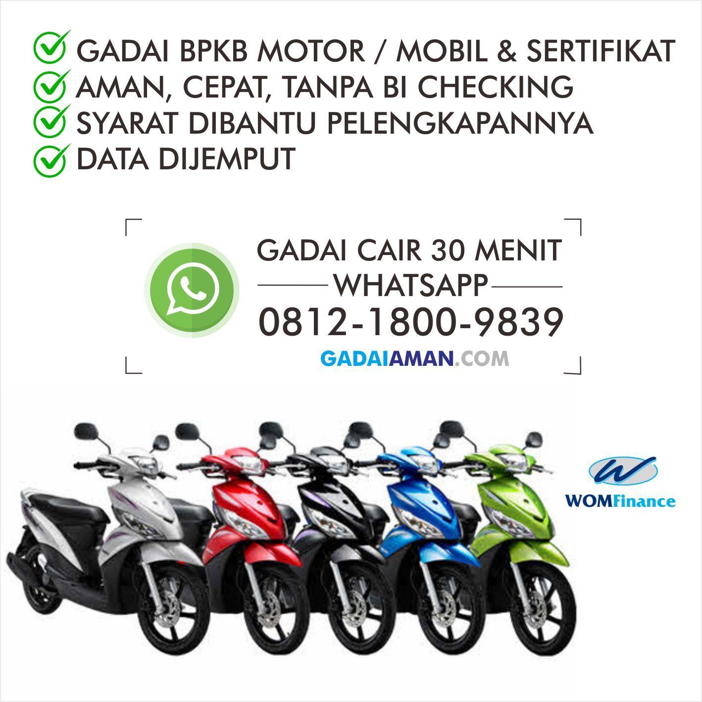 Ga Ribet Wa 0812 1800 9839 Kredit Plus Cimahi Bogor Motor Mobil Pelampung