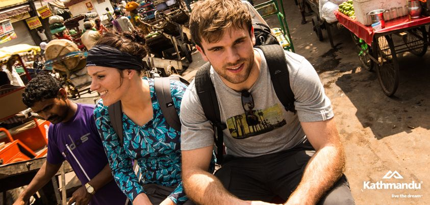 Cycle rickshaw is definitely one of the best ways to navigate Delhi's crowded streets.