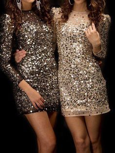 75cbcc3453e3 What Shoes and Accessories to Wear with Sequin Dress | Clothes ...