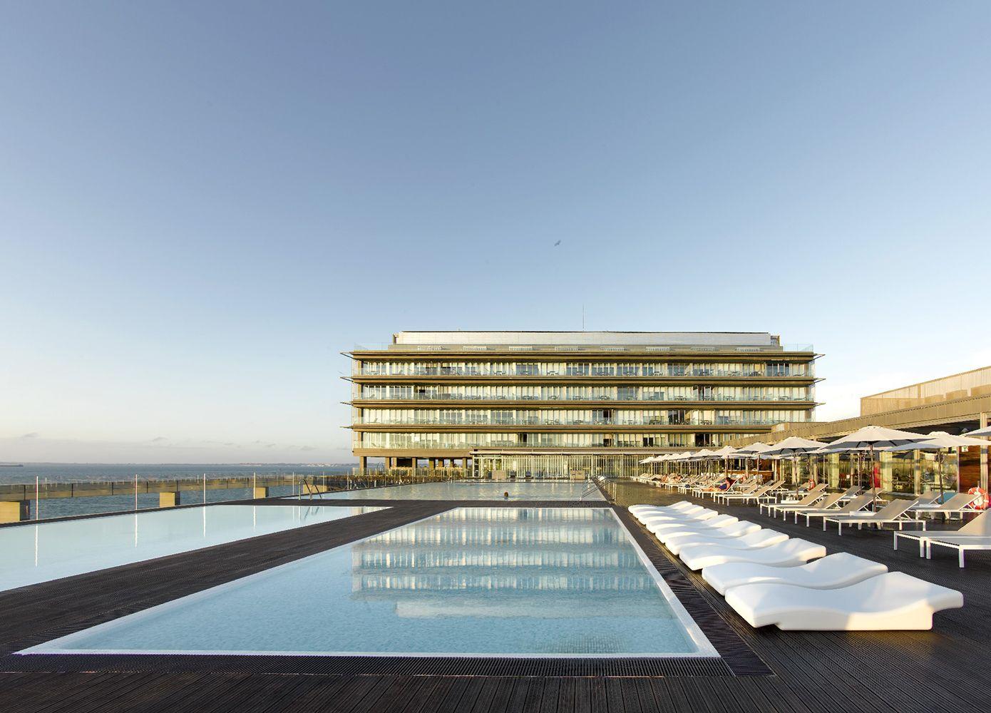 Piscinas Parador Hotel Atlántico Hidroingenia Diseño de